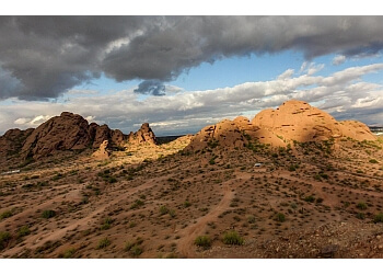Phoenix hiking trail Papago Park