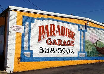 Richmond car repair shop Paradise Garage