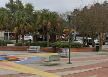 Lafayette public park Parc Sans Souci