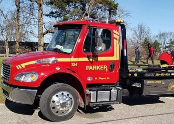 Fort Wayne towing company Parker Service