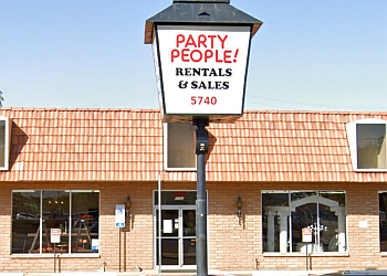 Phoenix event rental company Party People Rentals