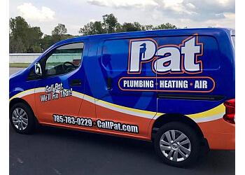 Topeka plumber Pat Plumbing, Heating & Air