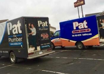 Topeka hvac service Pat - Plumbing, Heating and Air.