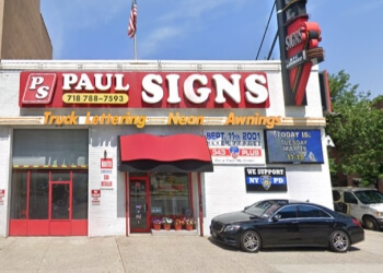New York sign company Paul Signs Inc.