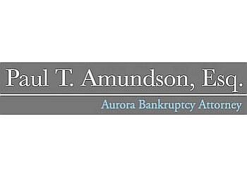 Aurora bankruptcy lawyer Paul T. Amundson, Esq