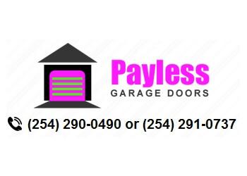 Killeen garage door repair Payless Garage Doors