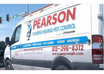 Rockford plumber Pearson Plumbing, Heating & Pest Control