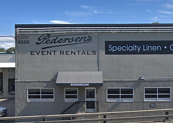 Seattle rental company Pedersen's Event Rentals, LLC