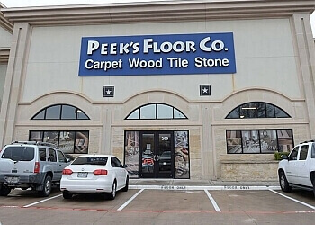 Frisco flooring store Peek's Floor Co.