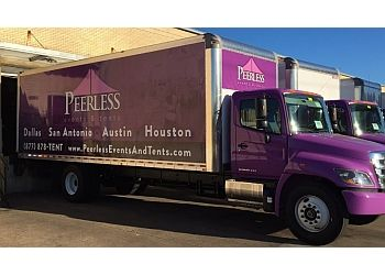 Houston event rental company Peerless Events and Tents