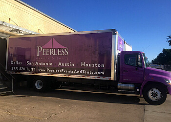 San Antonio event rental company PEERLESS EVENTS AND TENTS