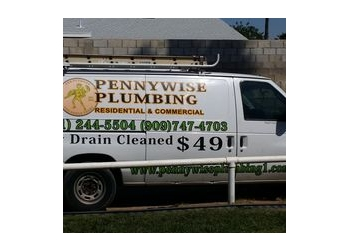 Moreno Valley plumber Pennywise Plumbing & Drain Cleaning