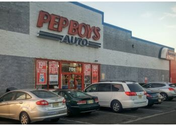 Jersey City auto parts store Pep Boys