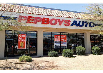 Chandler auto parts store Pep Boys Auto Parts