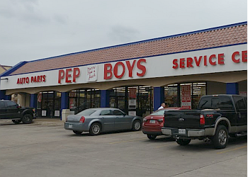 Dallas auto parts store Pep Boys Auto Parts