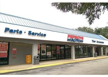 Jacksonville auto parts store Pep Boys Auto Parts