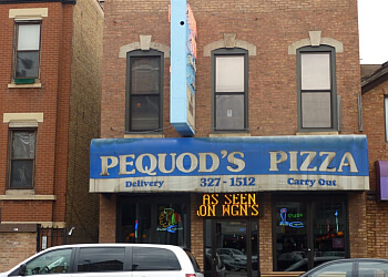 Chicago pizza place Pequod's Pizza