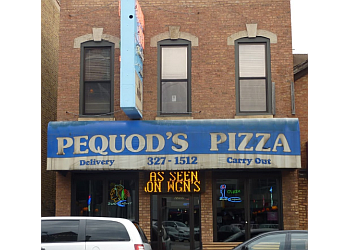 Chicago pizza place Pequod's Pizza