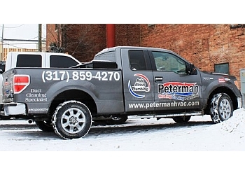 Indianapolis hvac service Peterman Heating Cooling & Plumbing, Inc.