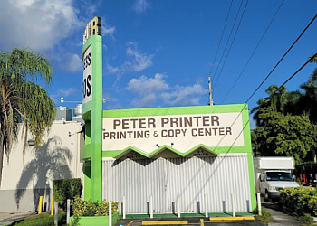 Hialeah printing service Peter the Printer, Inc.