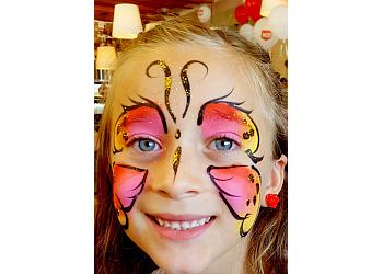 Tucson face painting Petunia!