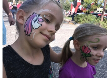 Minneapolis face painting Phancy Party Entertainment