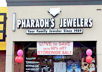 Corpus Christi jewelry Pharaoh's Jewelers