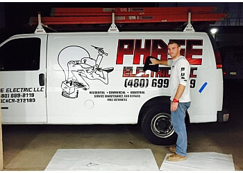 Tempe electrician Phase Electric LLC