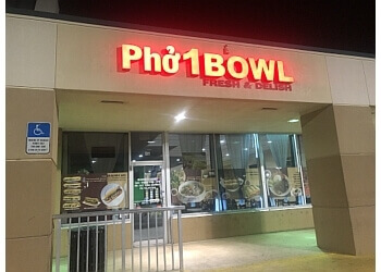 Hollywood vietnamese restaurant Pho 1 Bowl