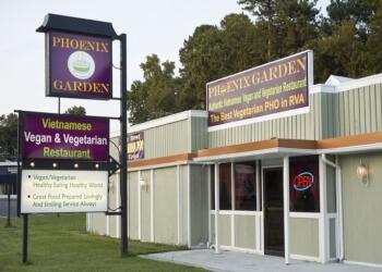 Richmond vegetarian restaurant Phoenix Garden Vegetarian Restaurant