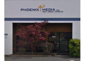 Portland printing service PHOENIX MEDIA, INC.