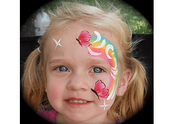 Newport News face painting Picasso Face and Body Painter
