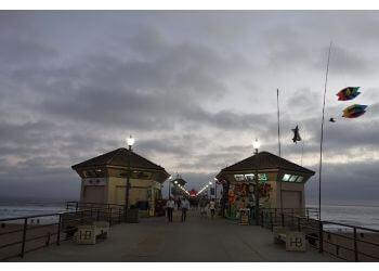 Huntington Beach landmark Pier Plaza and Amphitheatre