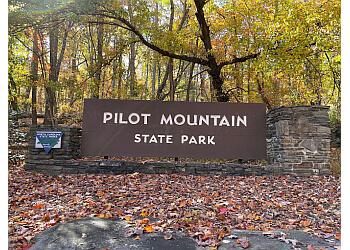 Winston Salem hiking trail Pilot Mountain State Park
