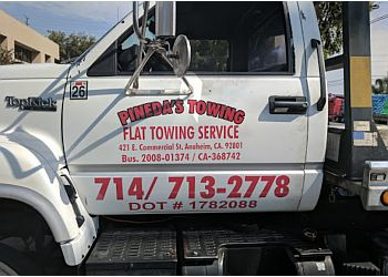 Anaheim towing company Pineda's Towing
