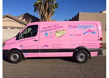 Glendale pool service Pink Dolphin Pool Care