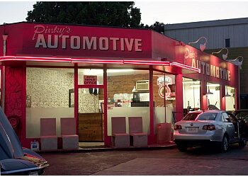 Los Angeles car repair shop Pinky's Automotive