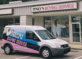 Tallahassee moving company Pinky's Moving Service