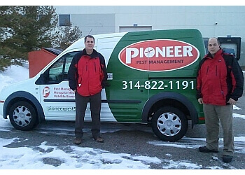St Louis pest control company Pioneer Pest management