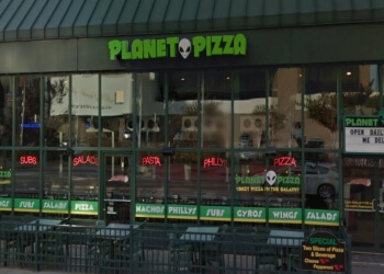 Virginia Beach pizza place Planet Pizza