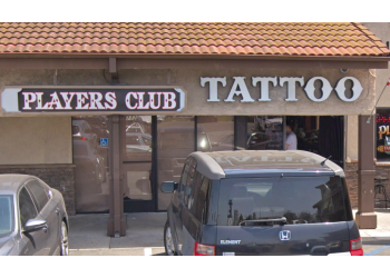 Huntington Beach tattoo shop Players Club Tattoo Parlor