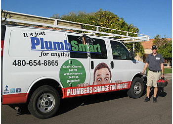 Mesa plumber PlumbSmart Plumbing Heating and Air