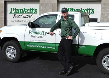 Rochester pest control company Plunkett's Pest Control