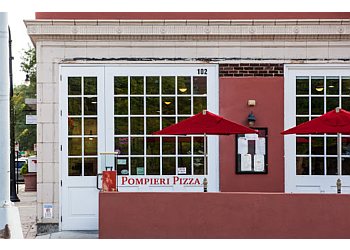 Durham pizza place Pompieri Pizza