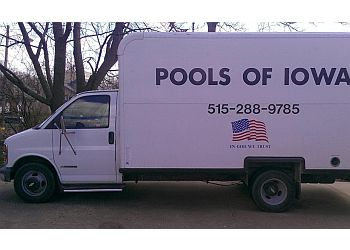 Des Moines pool service Pools of Iowa LLC