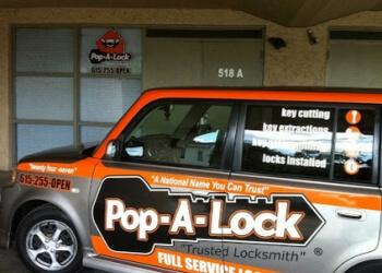 Nashville 24 hour locksmith Pop-A-Lock