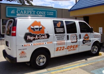 New Orleans 24 hour locksmith Pop-A-Lock