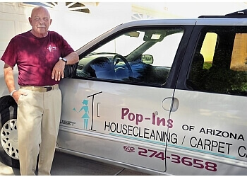 Peoria house cleaning service Pop-Ins of Arizona