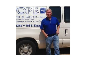 Shreveport locksmith Pope Locksmith and Safe Co, Inc.