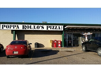 Waco pizza place Poppa Rollo's Pizza